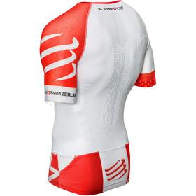 Compressport TR3 Aero Triathlon Top Unisex White